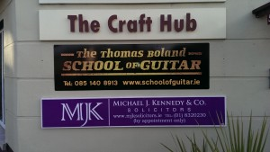 New Sign The Thomas Boland SChool OF Guitar